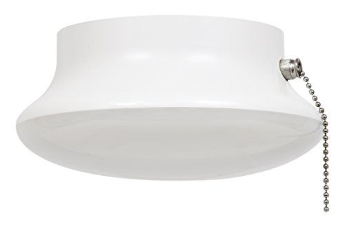 "SYLVANIA General Lighting 75112 100W Equivalent Ultra LED Non-Dimmable 7"" Medium Base Retrofit Ceiling Light w/Pull Chain - 2700K (Soft White)"