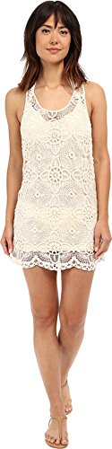 L*Space Women's Lucy Dress, Natural, X-Small