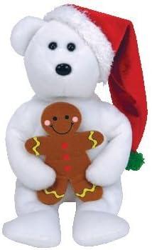 HAPPY HOLIDAYS the Bear holiday Christmas TY Beanie Babies D