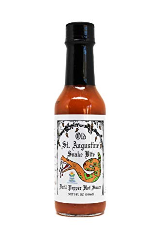 - Snake Bite Datil pepper Hot Sauce, 1st Place International Flavor Awards, Support a Woman Owned Family Business