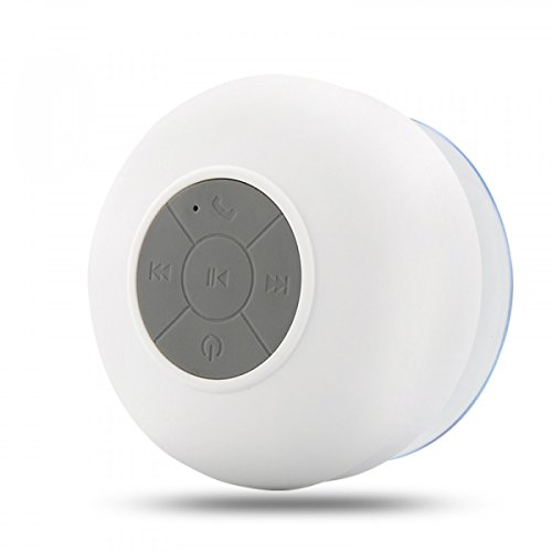 Authentic Neego Portable Waterproof Shower Speaker Bluetooth 3 0 With Built In Mic Powerful For