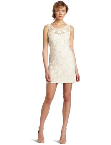 C. Luce Women's Chic Fitted Lace Cocktail Dress