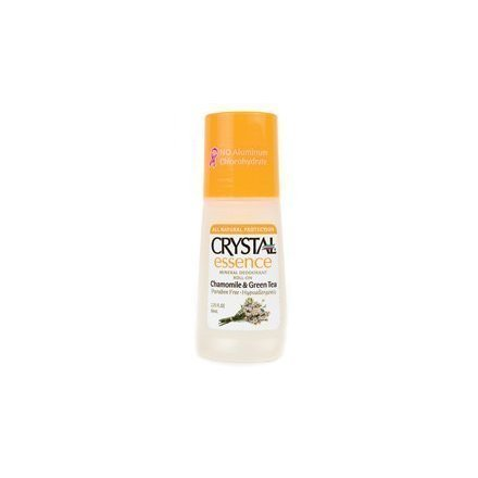 Crystal Essence Chamomile and Green Tea Roll On Crystal Body Deodorant 2.25 oz R by Crystal Body Deodorant BEAUTY