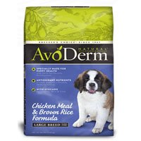 AvoDerm Natural Large Breed Puppy Chicken Meal and Brown Rice Formula Dry Dog Food 26-lb bag