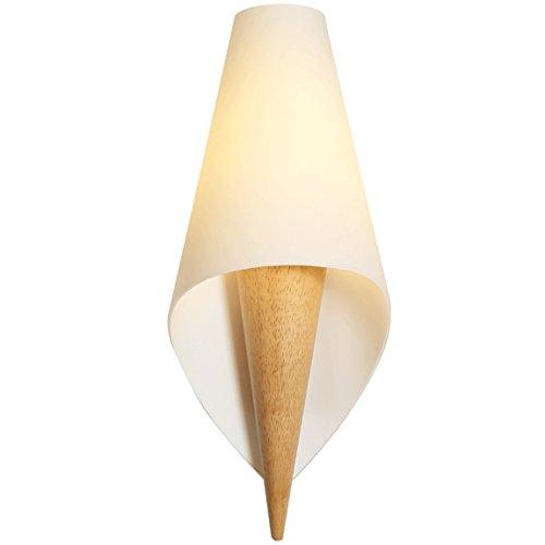 505 HZB Nordic Modern Bedside Lamp Creative Living Room Aisle Corridor Lamp Bedroom Wall Lamp (Color : A1433cm) ()