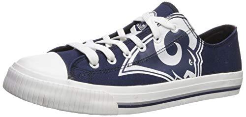 49c4bda5 FOCO NFL Mens Low Top Big Logo Canvas Shoes