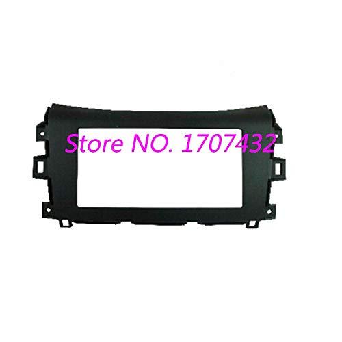 Fastener & Clip Radio Fascia for Nissan NP300, Navara 2014-2015 (Black) Stereo Fascia Dash CD Trim Installation Kit