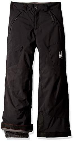 - Spyder Boys' Action Ski Pant, Black/Black, Size 10