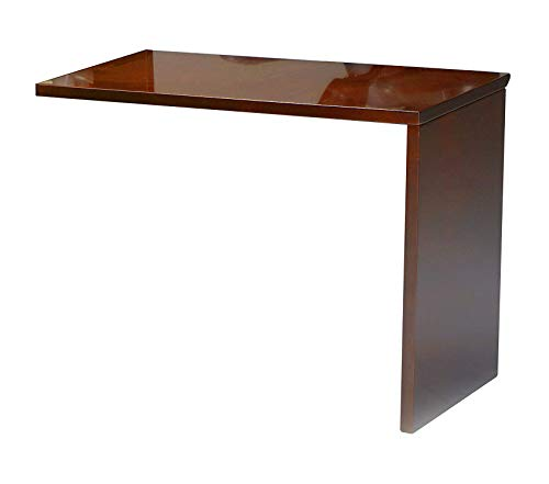 Wood & Style Furniture Universal ADA Return for Napoli Reception Station Sold Separately Sierra Cherry Veneer Premium Office Home Durable Strong