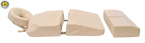 Pregnancy Massage Cushion And Headrest Full Body Bolster Full Body Bolster Package Beige