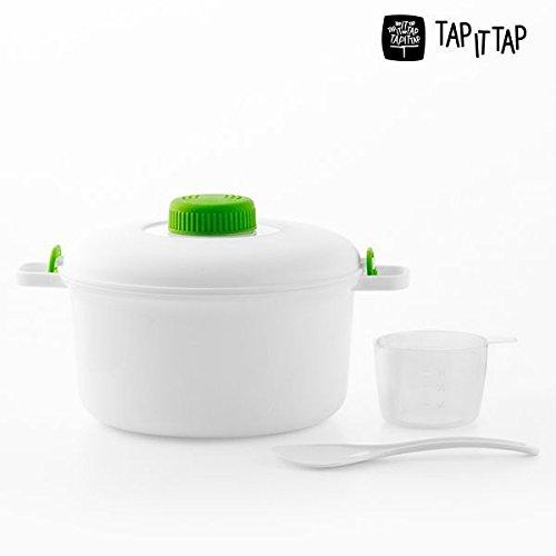 PAT Tap it Microondas Vaporera | Super Utensilios de Cocina ...