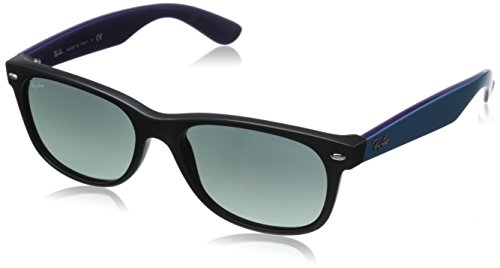 Ray-Ban New Wayfarer Classic, Black Grey Gradient & Dark - Grey Ray Ban Wayfarer Gradient