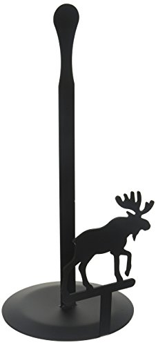 14 Inch Moose Paper Towel Stand
