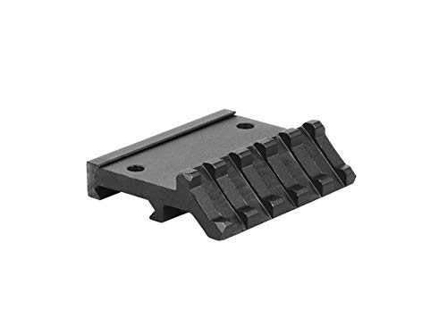 Lion Gears Low Profile Tactical Picatinny/Weaver 45 Degree Pro Mount, 2.16