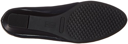 Aerosoles Damen Schöne Slip-On Loafer Dunkelblaues Leder