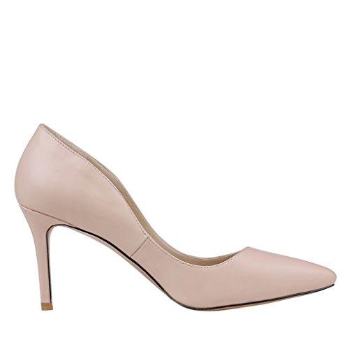 EKS - Zapatos de Tacón Mujer - Nackt-Matt
