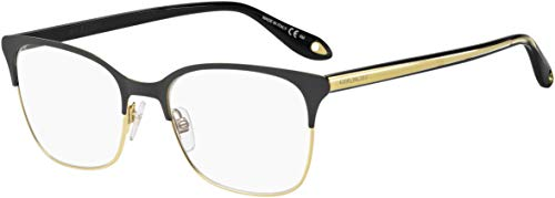 Eyeglasses Givenchy GV 0076 02M2 Black Gold / 00 Demo ()