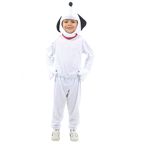 Fantasia Snoopy Infantil Sulamericana Fantasias Branco P 4 Anos