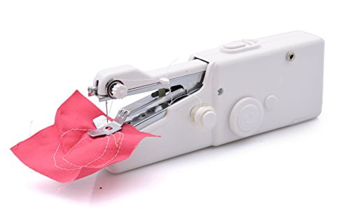 Handy Stitch Mini HandHeld Cordless Portable Sewing Machine Stapler Gorgeous Handy Stitch Sewing Machine Not Stitching Properly
