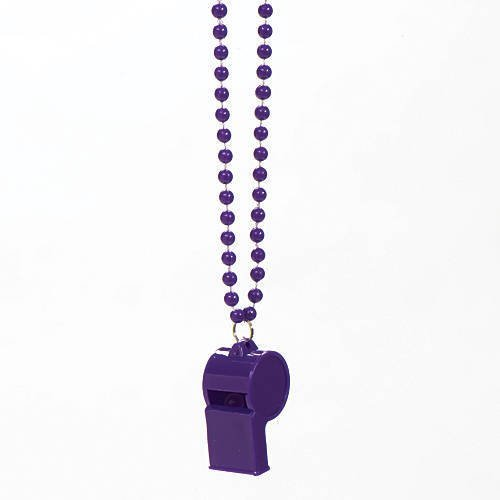 Purple Spirit Whistle Pack of 12 by Shindigz
