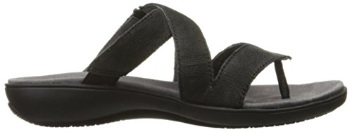 Women's Slide Komet Trotters Sandal Black OnRzAnwq