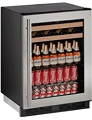 U-Line U1224BEVS13B 24 Built-in Beverage Center, Stainless Steel
