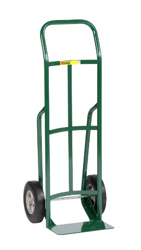 Little-Giant-T-132-10-Steel-Industrial-Strength-Hand-Truck-with-Continuous-Handle-10-Solid-Rubber-Tire-Wheel-800-lbs-Capacity-47-Height