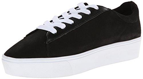 Nine West Womens Hearmeout Nubuck Fashion Sneaker Black/Multi