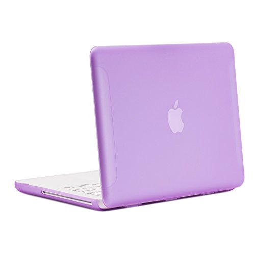 TopCase Rubberized Purple Cover Macbook