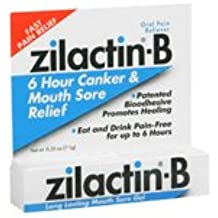 Blairex Zilactin-B Mouth Sore Gel, 0.25 oz by Blairex (Pack of 2)