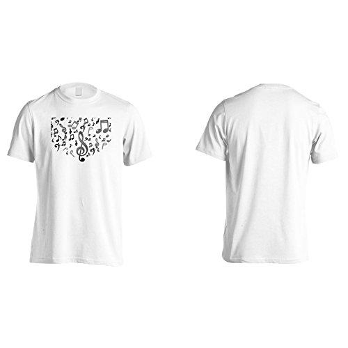 Neue Moderne Musik Hintergrund Herren T-Shirt m404m