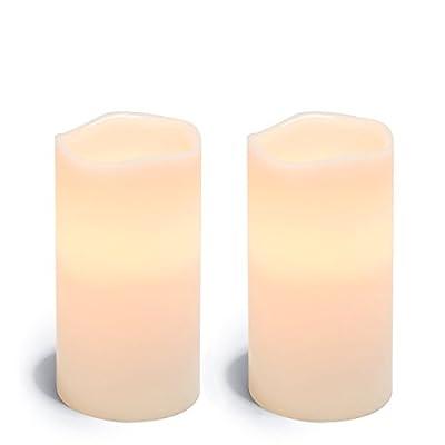 LampLust Signature Flameless Pillar Candle Sets