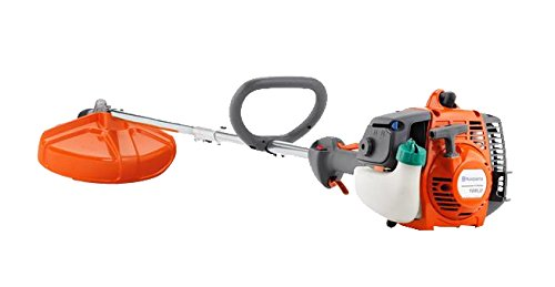 Gas Lawn Trimmer - Husqvarna 128LD 17-Inch Straight Shaft Detachable String Trimmer, 28cc