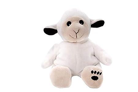 Habibi Plush Midi W/ärmetiere mit Klett Hase Elefant Schaf oder L/öwe B/är Midi B/är