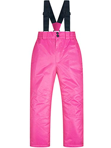 Little Boys Girl Kids Children's Outdoor Mountain Waterproof Windproof Ski Snow Snowboard Bib Pants Suspenders