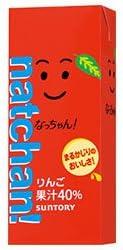 サントリー なっちゃん りんご 250ml紙パック×24本入×(2ケース)