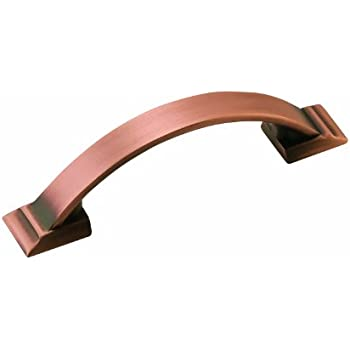 Amerock 1902324 Candler 3 in (76 mm) Center-to-Center Brushed Copper Cabinet Pull