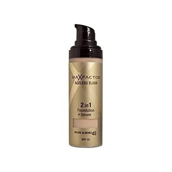 max factor ageless elixir 2 in 1 foundation warm almond