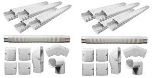 PIONEER Air Conditioner Decorative PVC Line Cover
