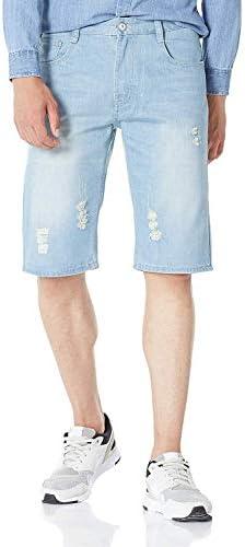 (デモン&ハンター)Demon&Hunter 981シリーズ メンズ 夏 ストレート ハーフパンツ 半ズボン 短パン デニム