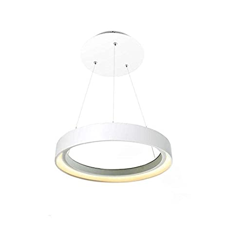 Ledbox Luminaria Led colgante HOOP 36W, O45cm, Blanco cálido ...