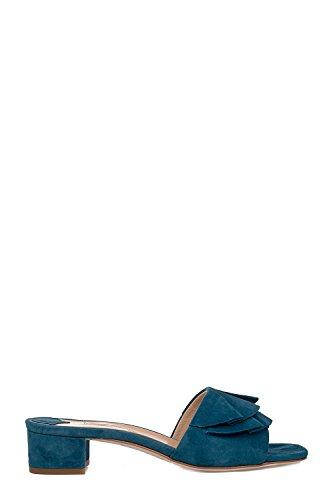 Donne Fabio Rusconi S3617 Sandali In Camoscio Blu