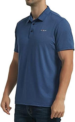 31kCeCHELNS. AC Men's Golf Polo Shirts Short Sleeve UPF 50+ Sun Protection Quick Dry Hiking Fishing Outdoor Performance T-Shirt    KPSUN Men's Cool Sun Protection Polo Shirt