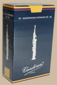 Vandoren Soprano Saxophone Reeds, Box of 10 (3.5)
