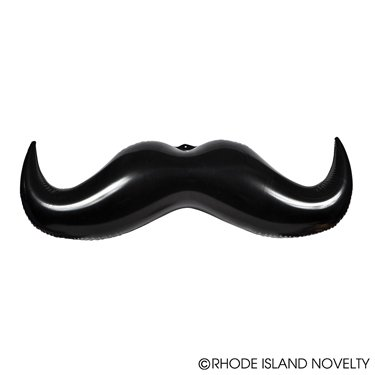 1 Dozen (12) Crazy Inflatable Mustaches (36