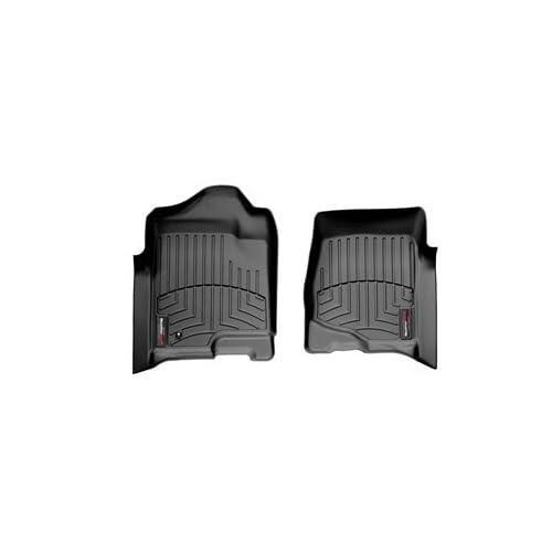 Cheap 2007-2014 GMC Yukon Front Set - WeatherTech Custom Floor Mats Liners - Black free shipping