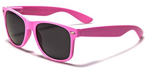 Sunglasses Classic 80's Vintage Style Design (Light Pink) ()