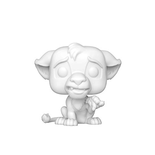 Funko 43685 Pop Disney Lion King-Simba (DIY)(WH) Juguete Coleccionable, Multicolor