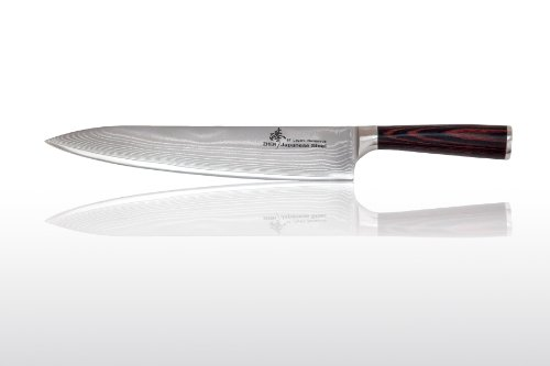 ZHEN Japanese VG-10 67 Layers Damascus Steel Dragon Gyuto Chef Knife 10.5-inch by ZHEN