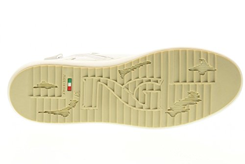 GIARDINI femme Blanc 707 NERO grande baskets P717273D 1qOzxSwSR